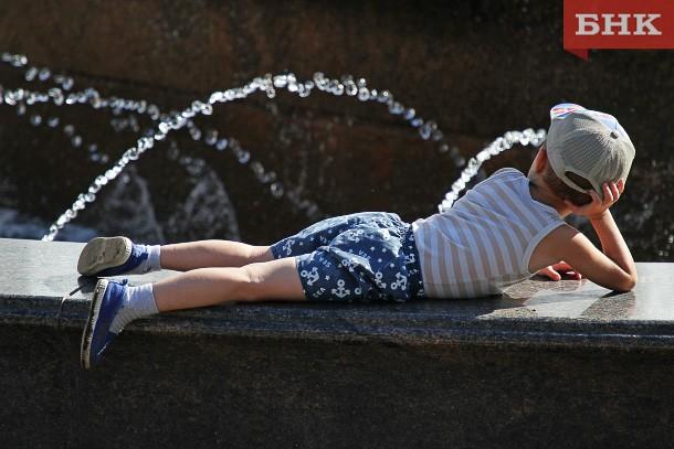 Температура воздуха в столице Коми продолжает бить все рекорды